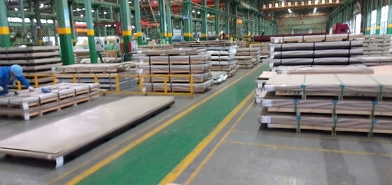 中国 316Ti Stainless Steel Plate 316Ti (S31635, 1.4571) Hot Rolled Plate316Ti Austenitic Stainless Steel サプライヤー