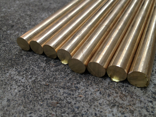 Ptfe Bronze Copper Bar Ptfe Bronze Filled Rod Copper and Bronze Solid Bar Material